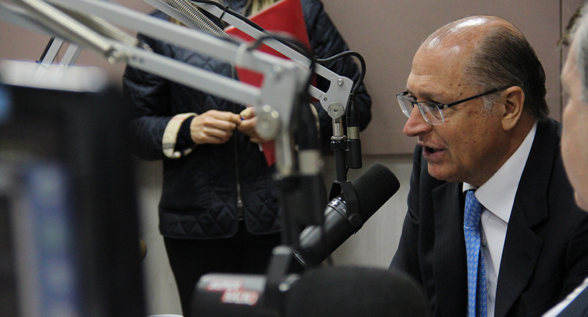 Visita do Governador Geraldo Alckmin na Super Rádio