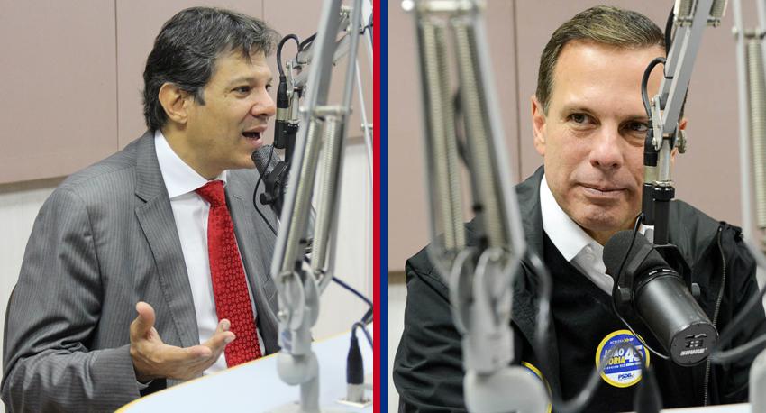 Entrevista com os candidatos à prefeitura de São Paulo