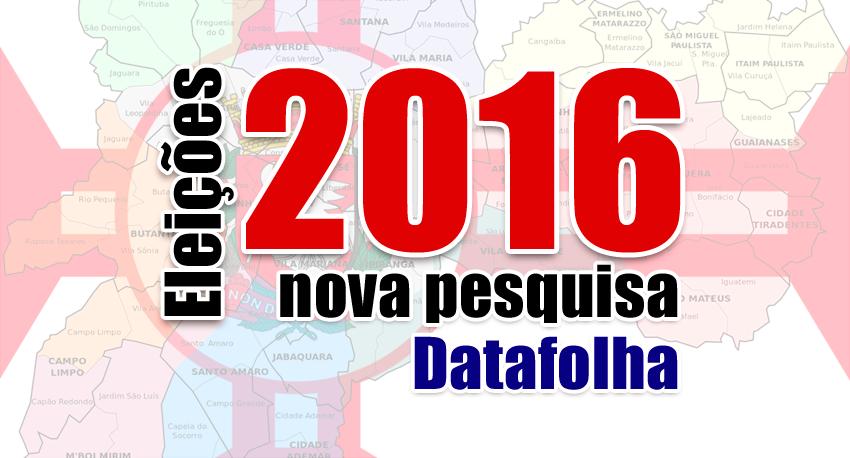 Atualizado: Doria sobe em nova pesquisa Datafolha