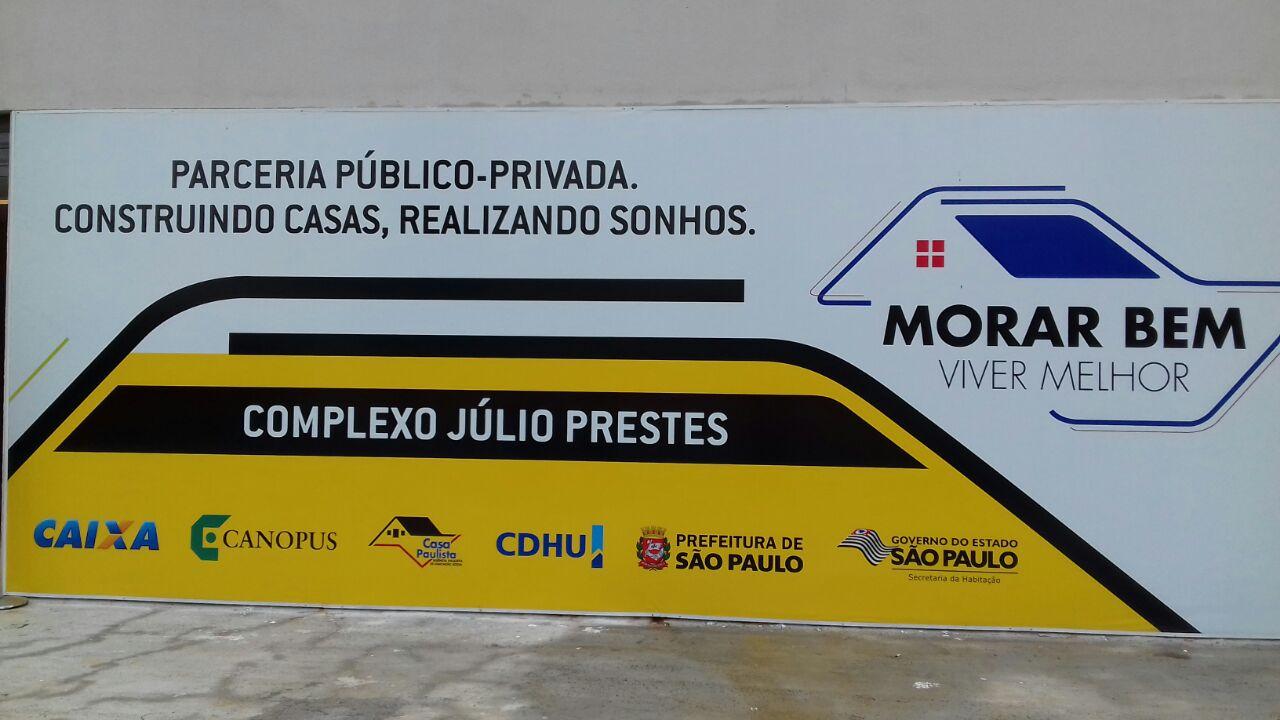 Obras de habitação são iniciadas no centro de SP