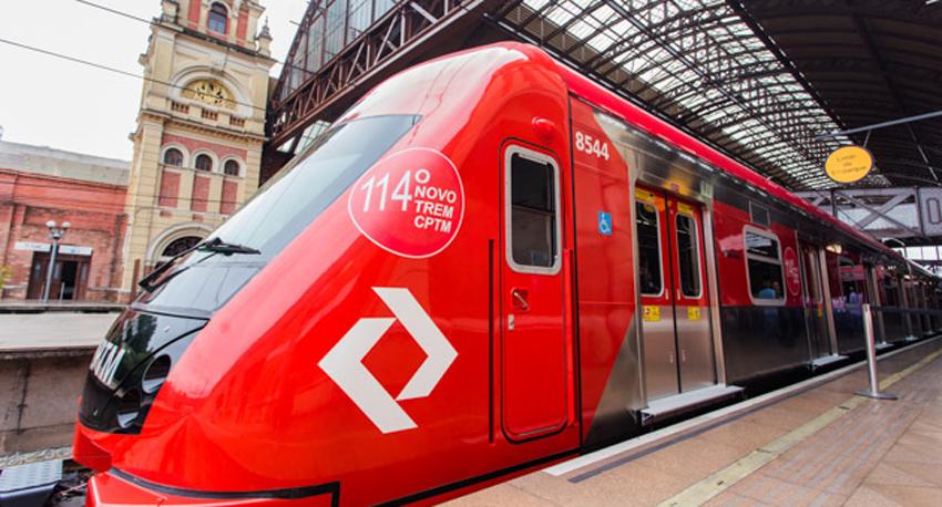 Linha 7-Rubi recebe novo trem