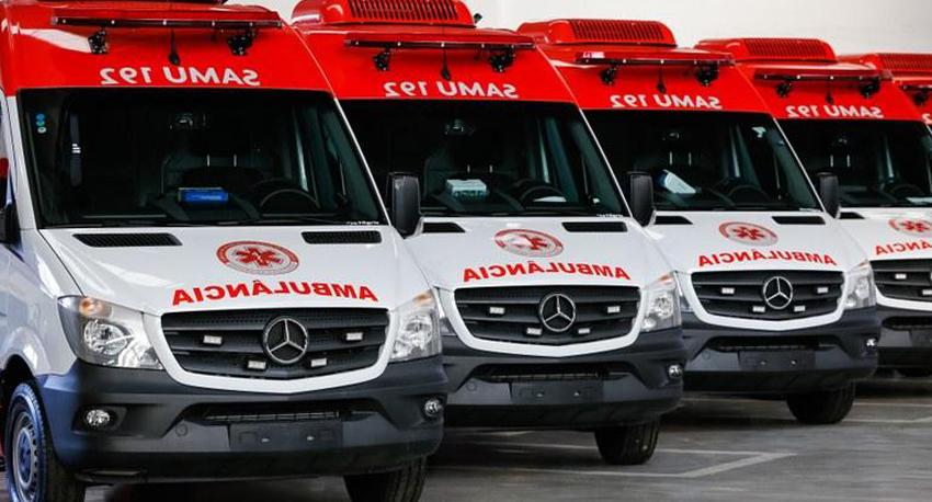 Mogi das Cruzes: SAMU recebe novas ambulâncias