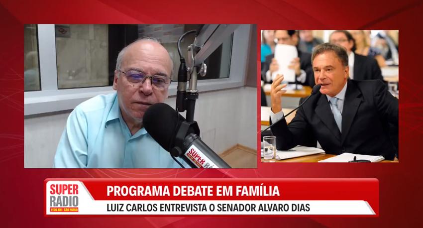 Entrevista com o Senador Alvaro Dias