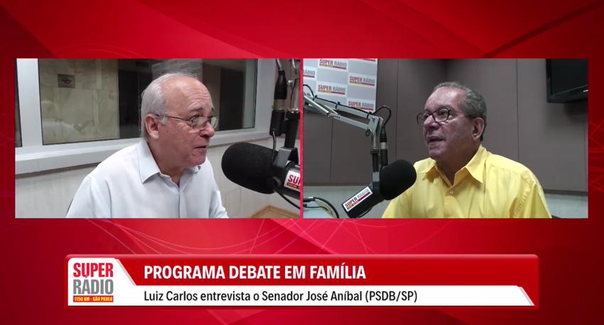 Entrevista com o Senador José Aníbal