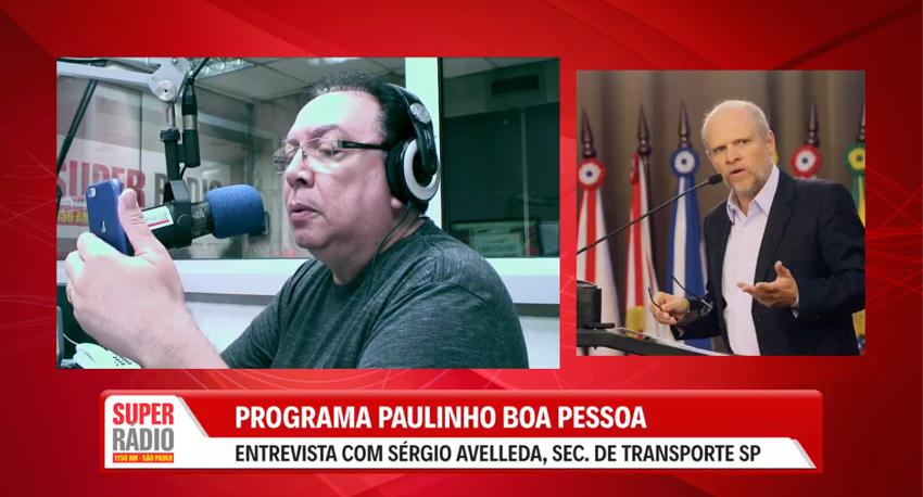 Entrevista com o Secretário de Transporte Sérgio Avelleda